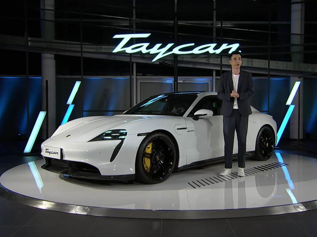 保时捷Taycan在国内如期交付 新车将于本周末到店