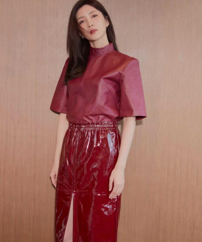 原创时尚女星江疏影,轻盈私服照曝光,论33岁如何玩转优雅风?