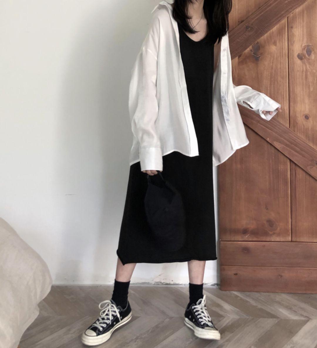 薄外套+裙子,今春最in穿搭,好看爆了!!!