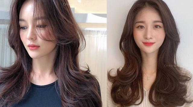 2020韩式发型6大女生发型参考:锁骨直发,复古卷发,波浪卷发图片