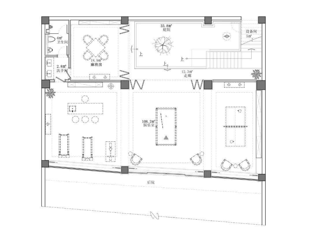14米乘12米别墅平面图