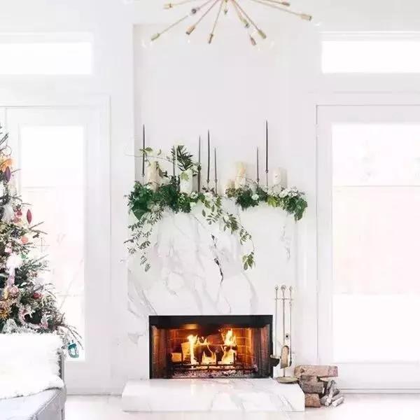 浪漫满屋圣诞软装搭配——红配绿不一样的高级感!