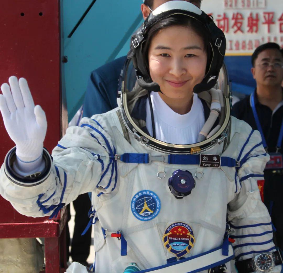 """中国首位女航天员刘洋被聘为""""中国航天公益形象大使"""""""