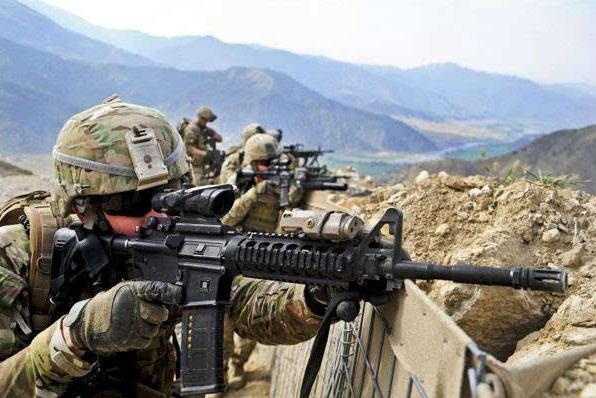 美国的军事力量世界第一,为何却只敢打一些小国?道理很简单