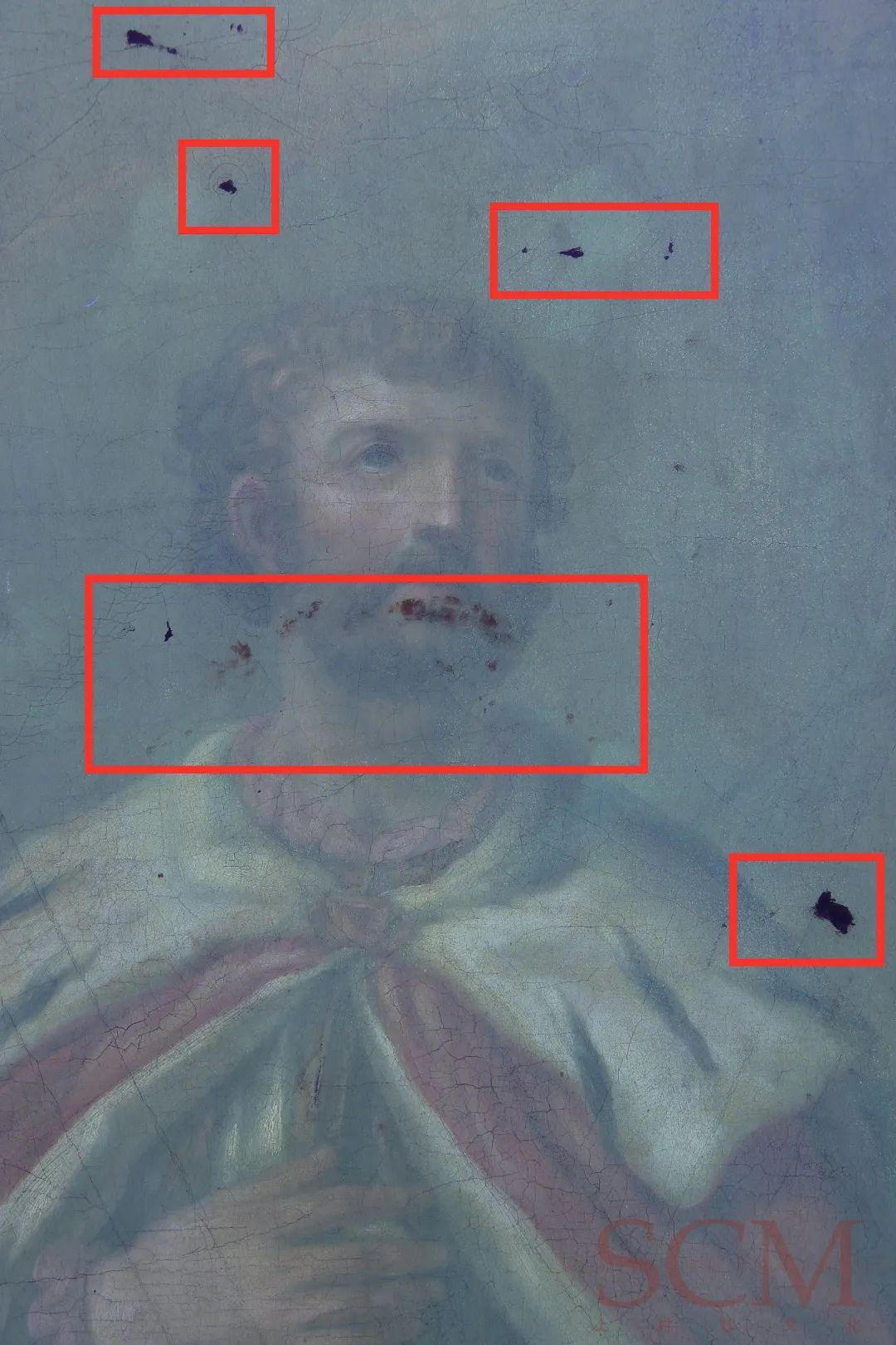 拍X光片、用手术刀、穿白大褂……我是个修复油画的