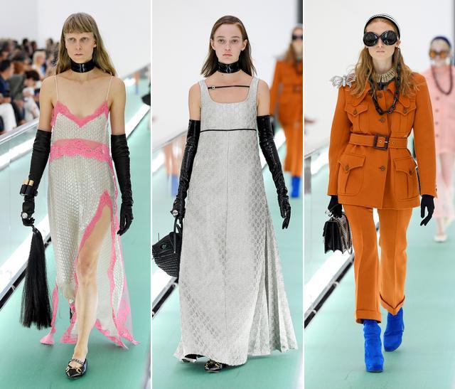 不用走模特步的时装秀?gucci 2020时装秀,66套最新时装与众不同