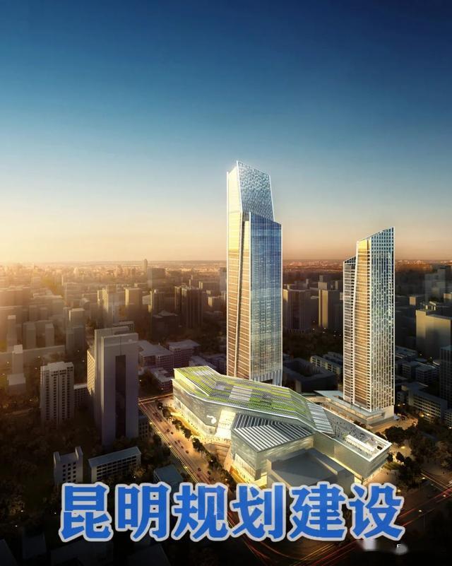 君悦酒店落户昆明恒隆广场,2023年开业,周边形成五星级酒店群!