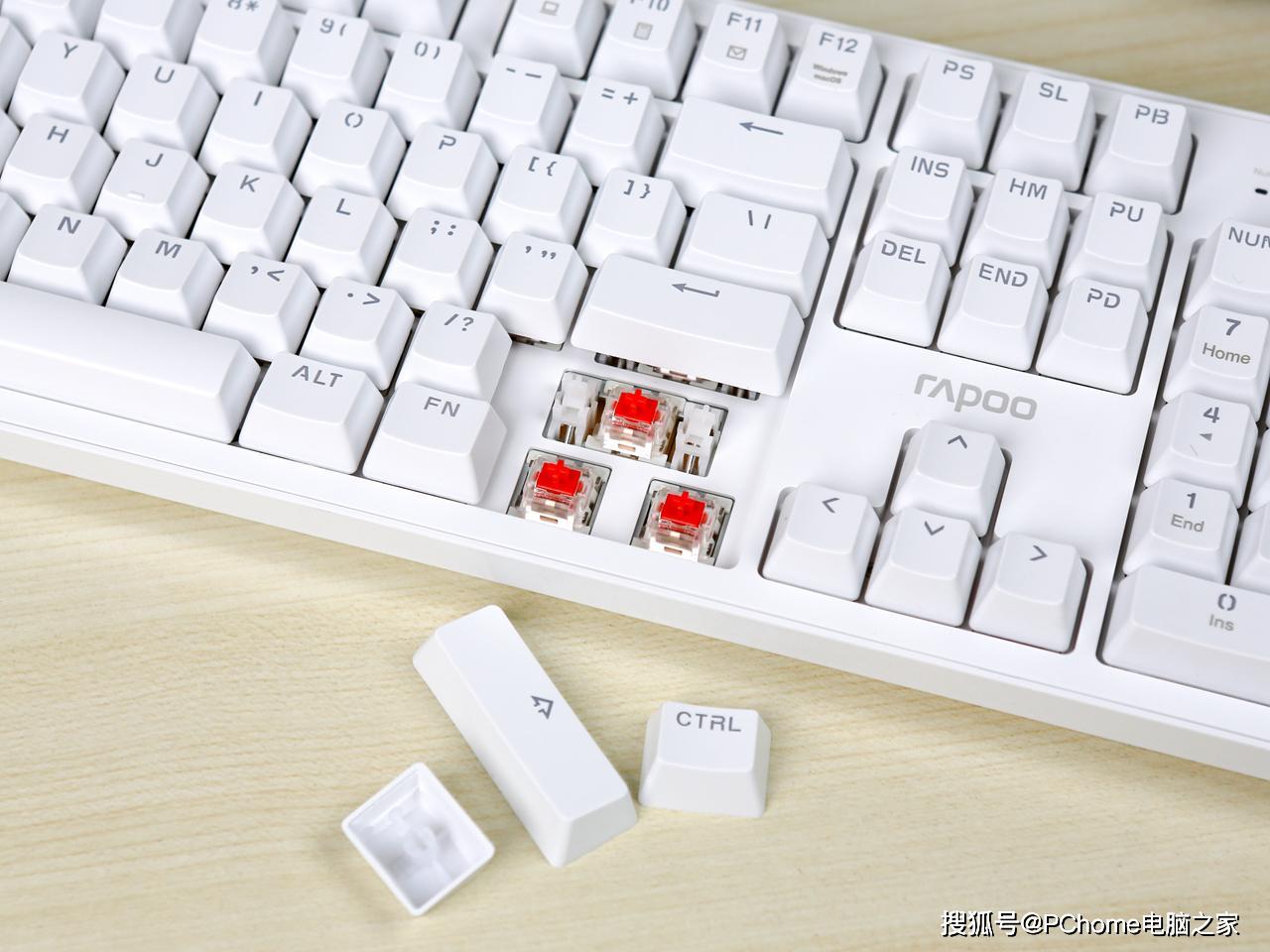 赵本山电视剧大兵_纯白无暇 办公百搭 雷柏MT710背光机械键盘体验 公司ri有趣的数字 ...