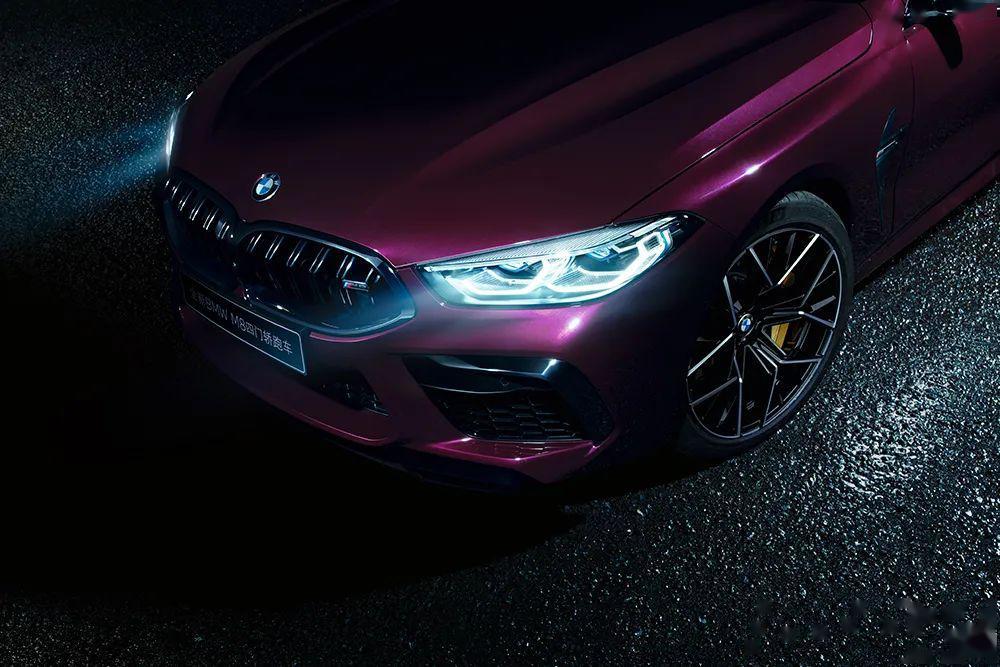 从196.8万的价格出发,全新宝马M8四门轿跑正式上线!