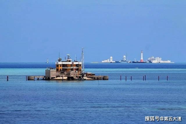 越南又有新动作,扩大琼礁填海规模,建立军事基地后增加常驻部队