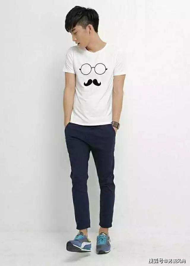 夏季5款男士时髦裤型搭配短袖T袖