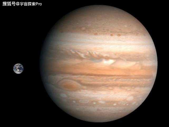 宇宙中的天体大小排名 最大行星 最大恒星 最大星系都是谁
