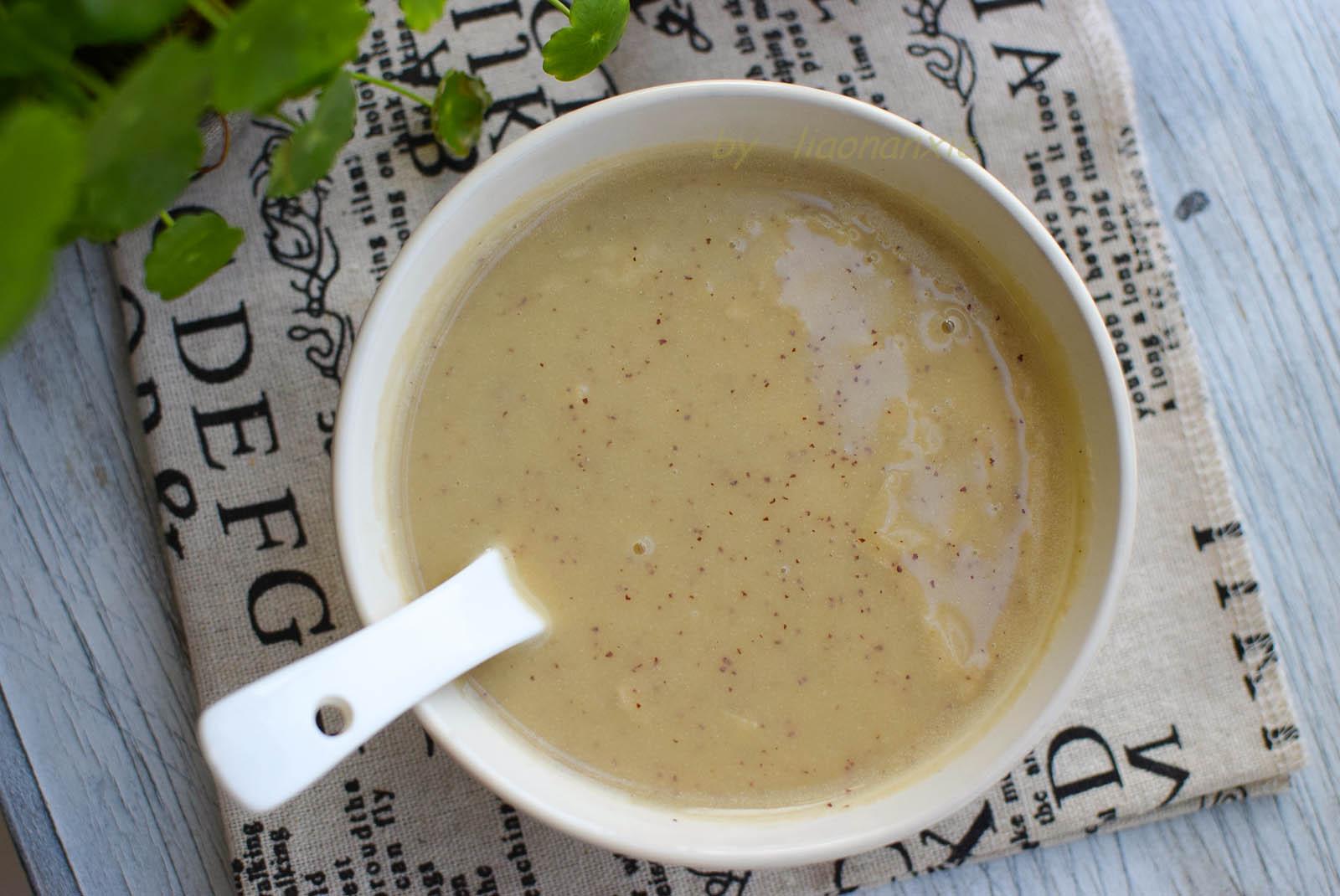 早餐用这三种材料打汤,口感丝滑,鲜甜好喝,比豆浆更抢手