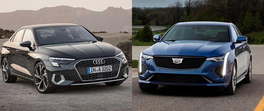 相比原厂凯迪拉克CT4,新奥迪A3轿车第一豪车该选谁?