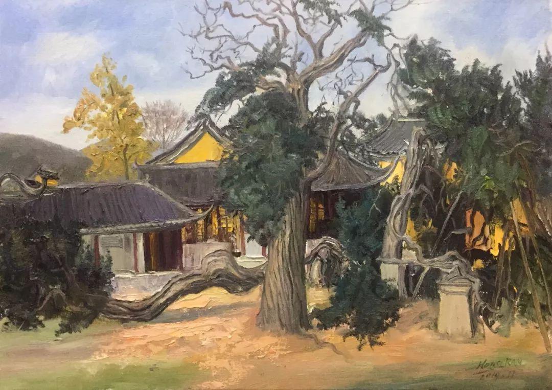 云展覽|五月風——姑蘇藝術聯盟油畫家寫生作品集錦