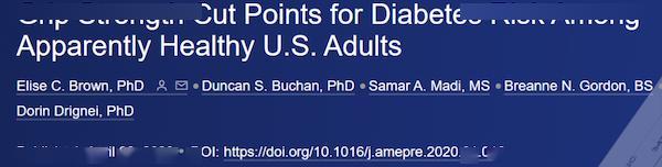 """《美国预防医学杂志》:说出来你可能不信,和医生""""握个手""""就能知道你有没有糖尿病!"""