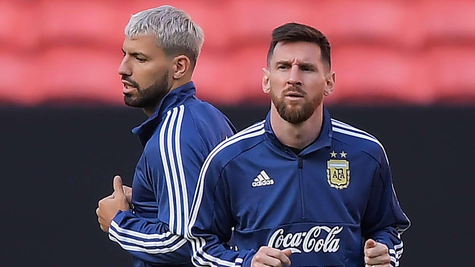 阿圭罗:梅西在阿根廷总是第一个挨批 我无法理解