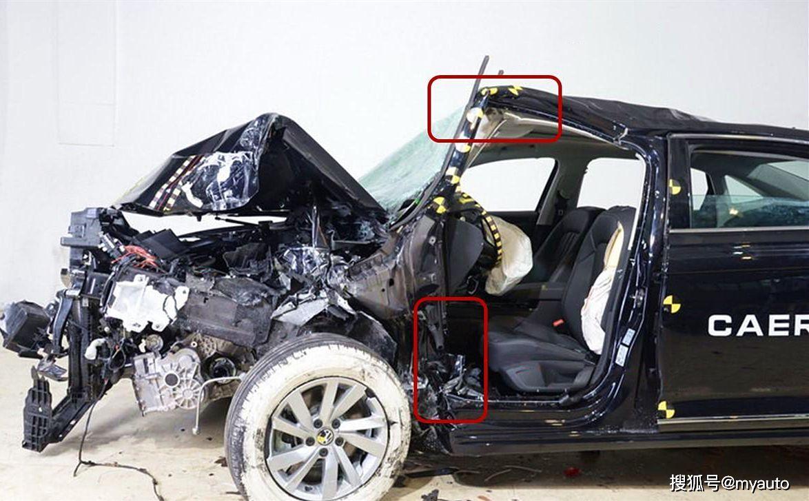 帕萨特最新碰撞成绩出炉,中保研和C-NCAP你信谁?