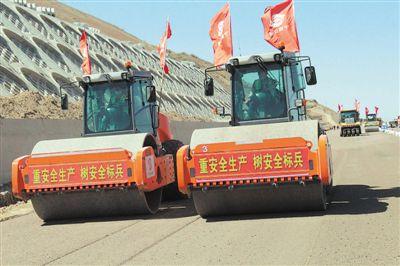 西吉至会宁高速公路加紧施工建设