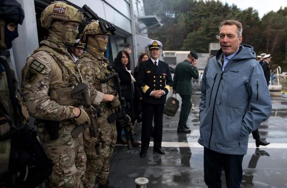 挪威国防部长抨击,该国的作战能力以及备灾情况