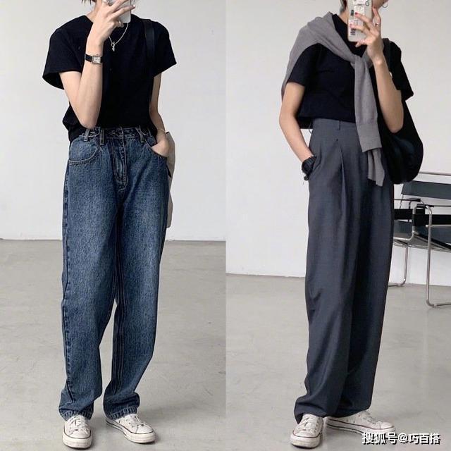 原创日常搭配不时尚?超好学的春夏搭配,教你用基础款穿出时髦范