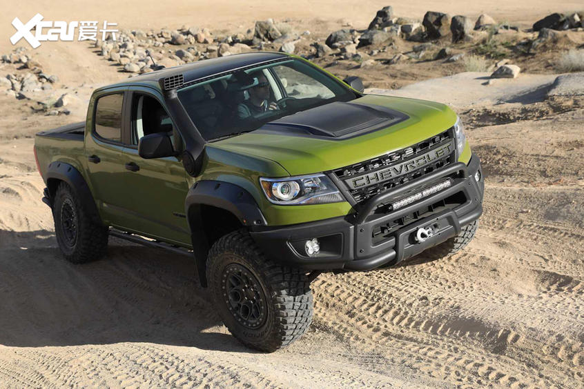 美国皮卡车改装也可以玩长途越野穿越风格——AEV美国探险车