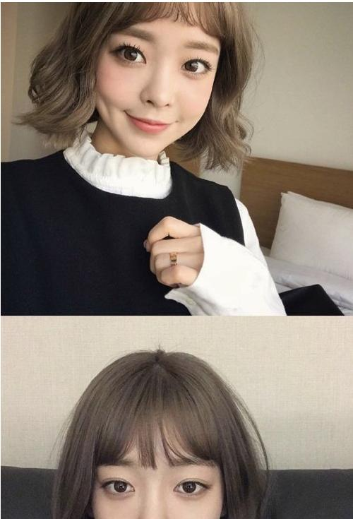 2020年女生瘦脸短发造型,供你选择的多款发型,展示出别样风韵