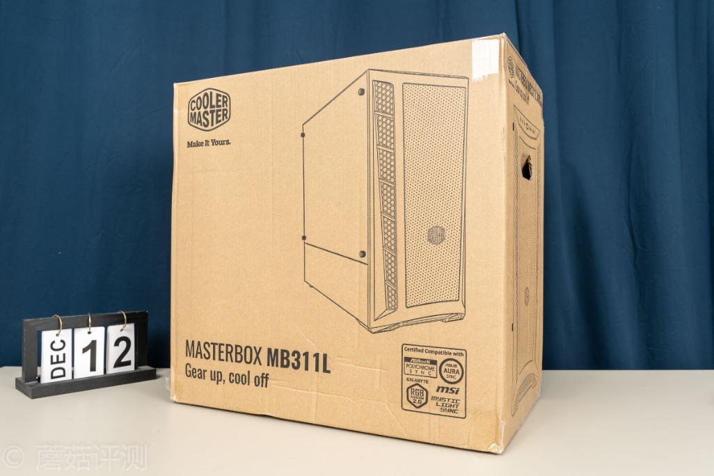 原厂评估一款高价值的小型机箱,散热极佳,一款炫酷的旋风MB311L机箱