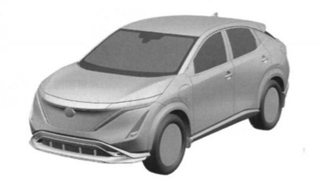 概念车设计得到延续!日产Ariya专利图曝光