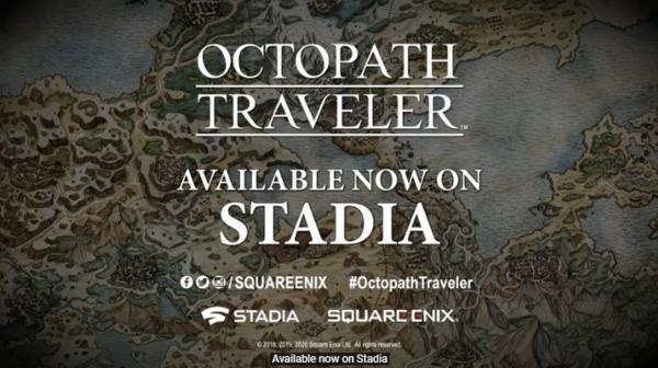 《绝地求生》《歧路旅人》已登陆StadiaFIFA今冬加入
