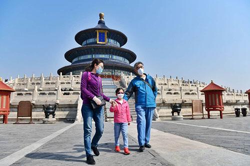 """天坛颐和园""""园中园""""开放首日有游客因这个原因被挡门外"""