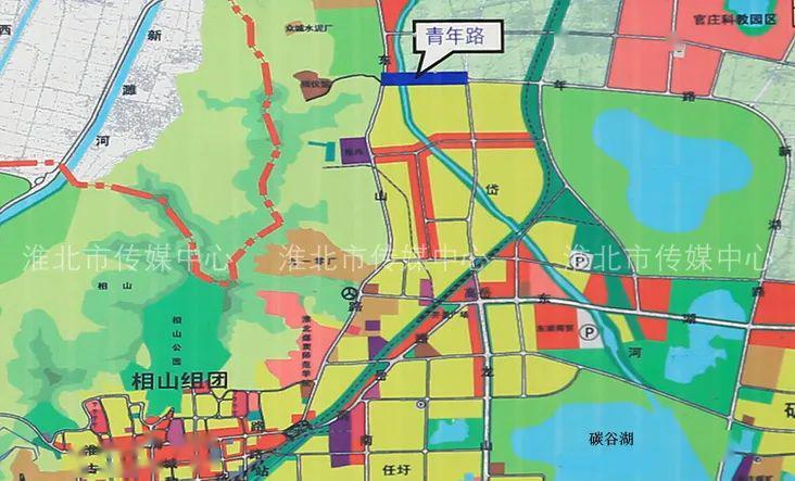 东至县城北新区规划图