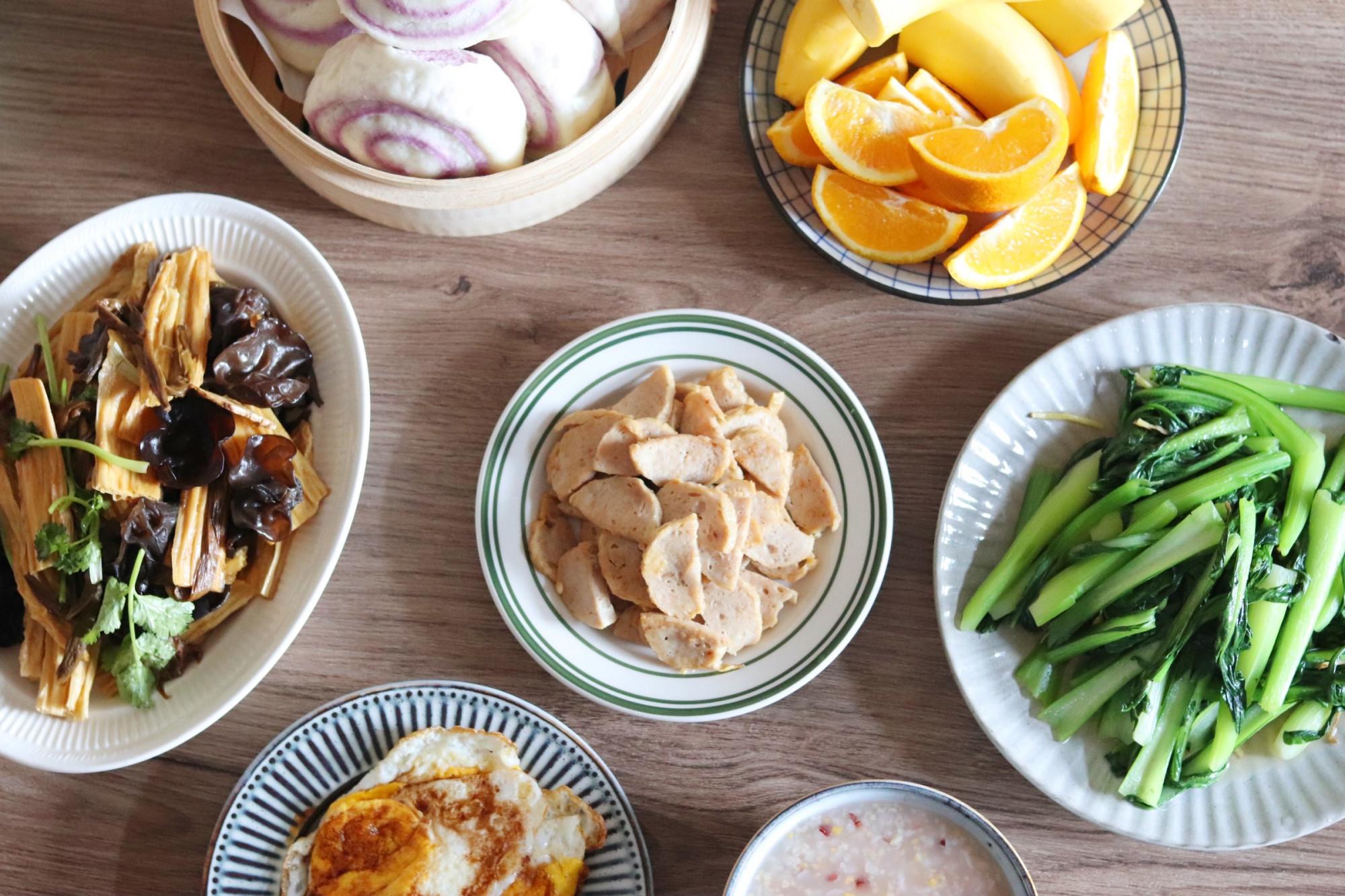 早餐▲用心搭配营养美味,朋友看了都说:满满都是爱,潮汕妈妈做的早餐
