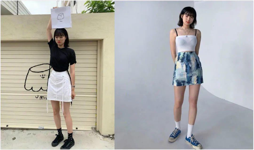 原创小个子女生也能穿出甜酷感!12套搭配让你每天造型不重样