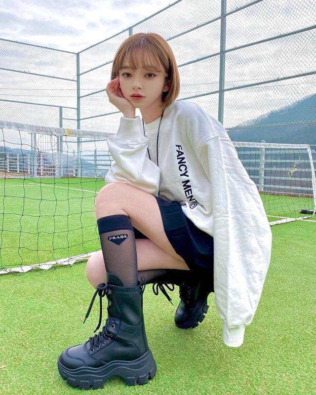 笑容甜美,身材火辣,韩国颜值什么水平?网友:行走的国民女神