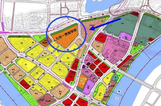 江北核心区最新规划图