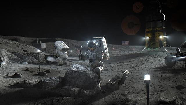 貝佐斯和馬斯克贏得美國國家航空航天局的2024月球任務合同
