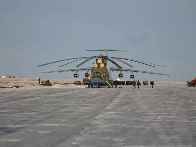 全球最大直升机米-26五十年研发服役史,它用大书写了自己的传奇