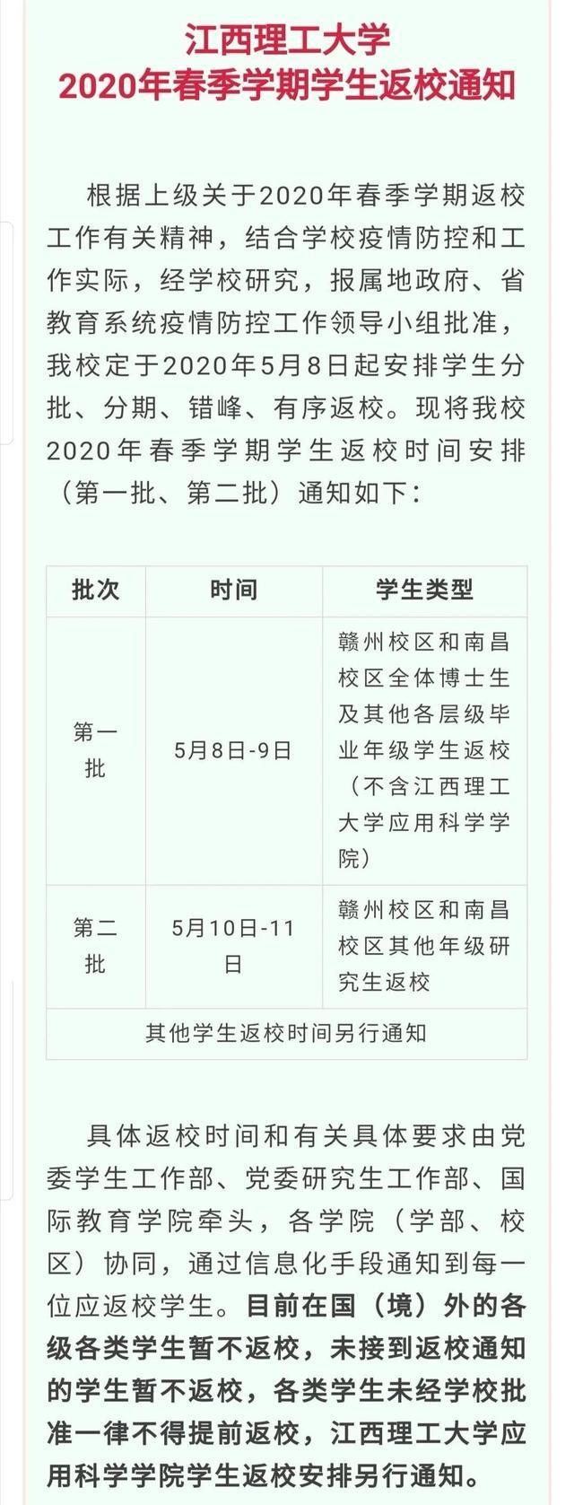 江西高校陆续公布开学时间,江西师大却意外缺席,急(图1)