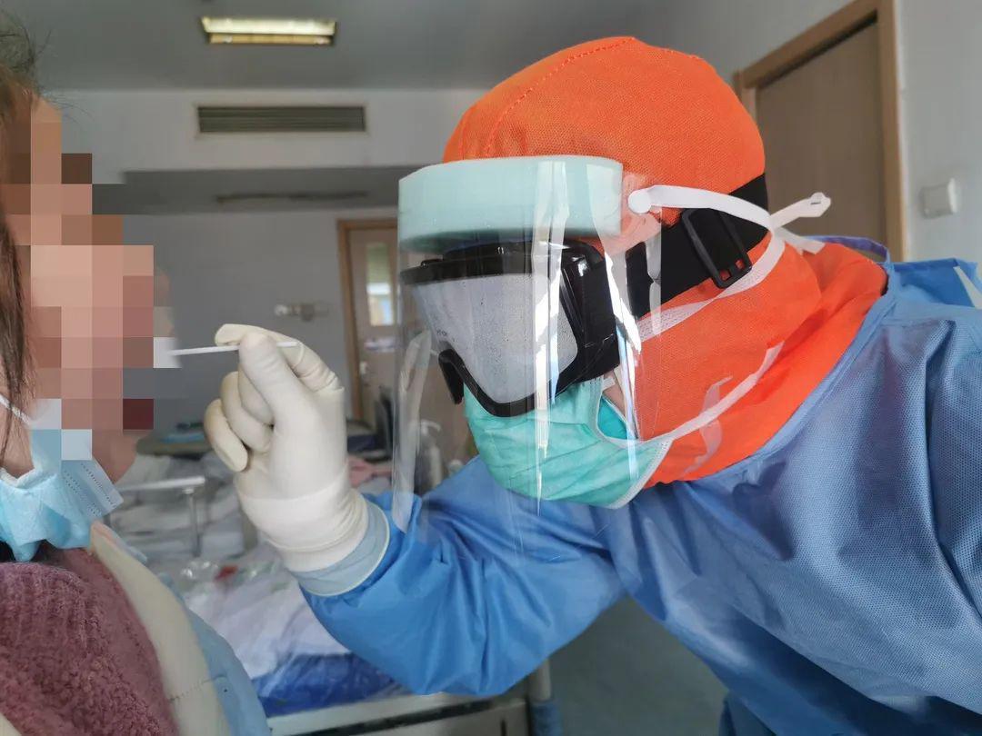 咽拭子采集部位解剖图