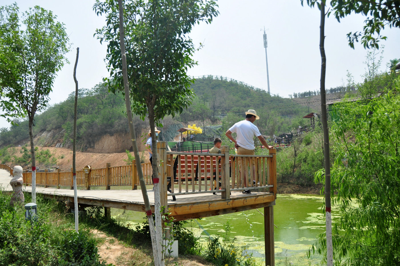 五一小长假哪里去 邯郸佛山野生动物园,户外空气新鲜老少皆宜图片