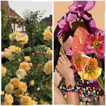 【时尚】2021春夏流行趋势浪漫花卉,这个流行元素你get了吗?