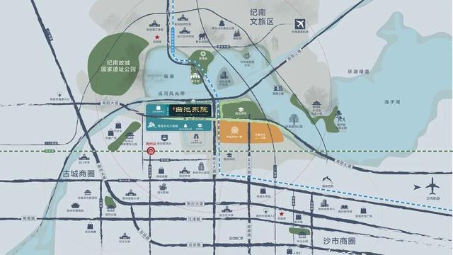 荆州纪南文旅区规划图