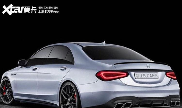 新款奔驰AMG S级效果图更具运动感