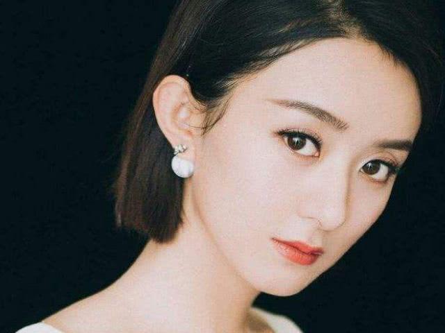 娱乐圈五官最美的3位女明星:赵丽颖垫底