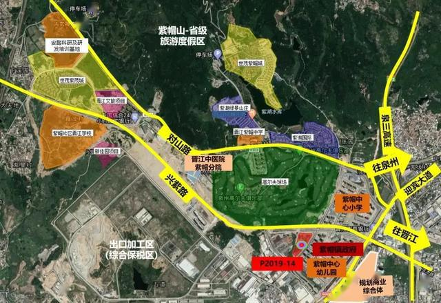 晋江发展规划图