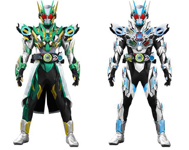 假面骑士01 粉丝自创最终形态变身道具 致敬时王二阶的双蝗虫
