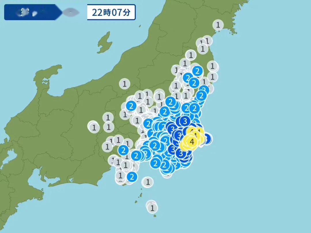 地震 震度 東北