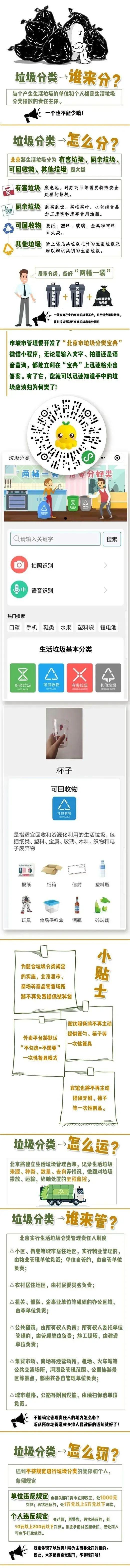 """北京将全面开启""""生活垃圾强制分类"""""""
