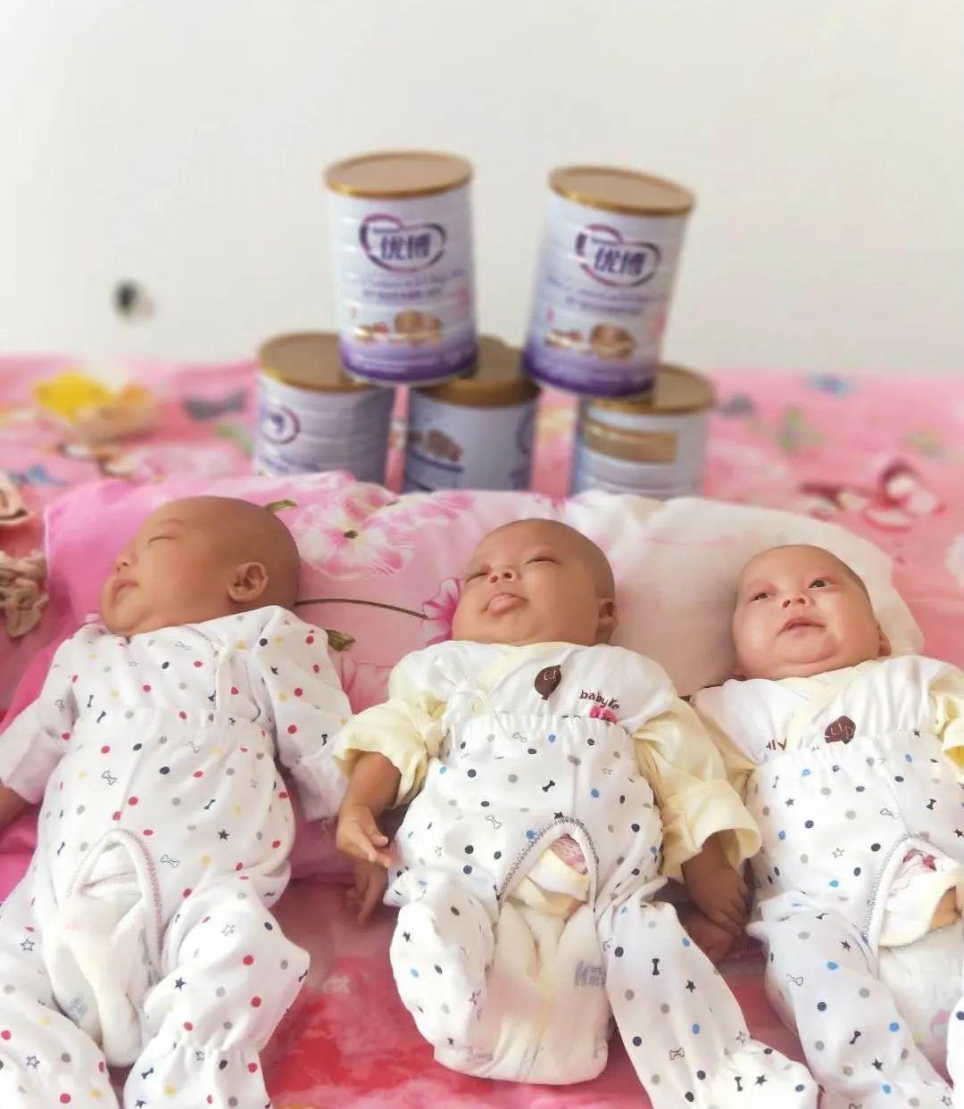 临河早产三胞胎的特殊医学用途奶粉有着落了